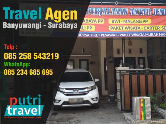 Agen Travel Banyuwangi Surabaya