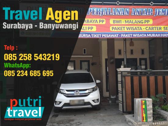 Travel Agent Surabaya Banyuwangi