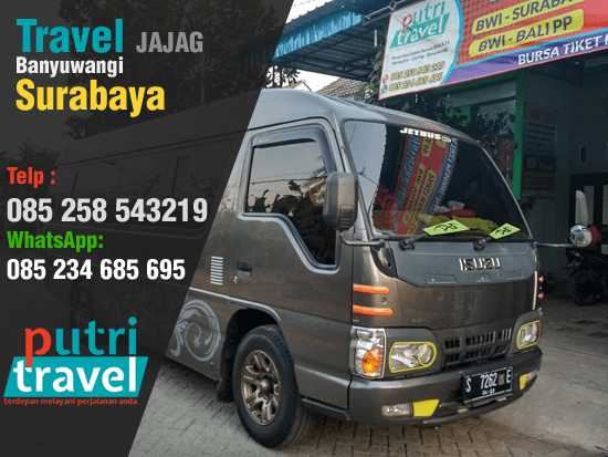 Travel Jajag Banyuwangi Surabaya