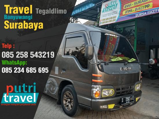 Travel Tegaldlimo Banyuwangi Surabaya