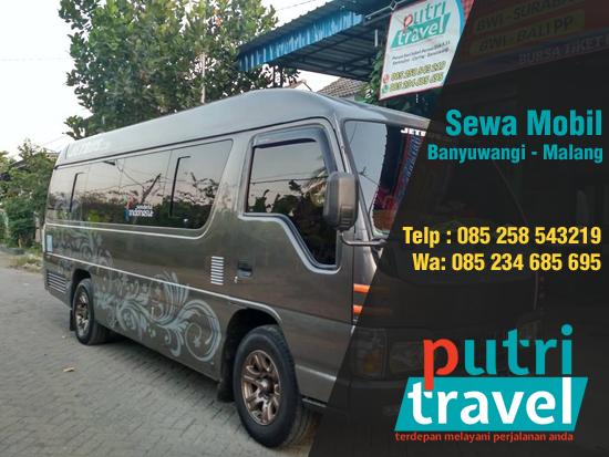 Sewa Mobil Banyuwangi Malang