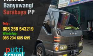 travel banyuwangi surabaya PP bwitravel