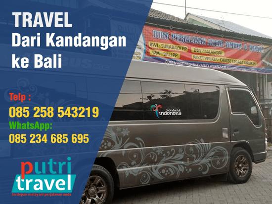 Travel Kandangan ke Bali Murah
