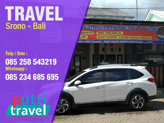 Travel Srono ke Bali Murah
