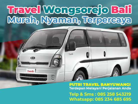 Travel-Wongsorejo-Bali-Denpasar